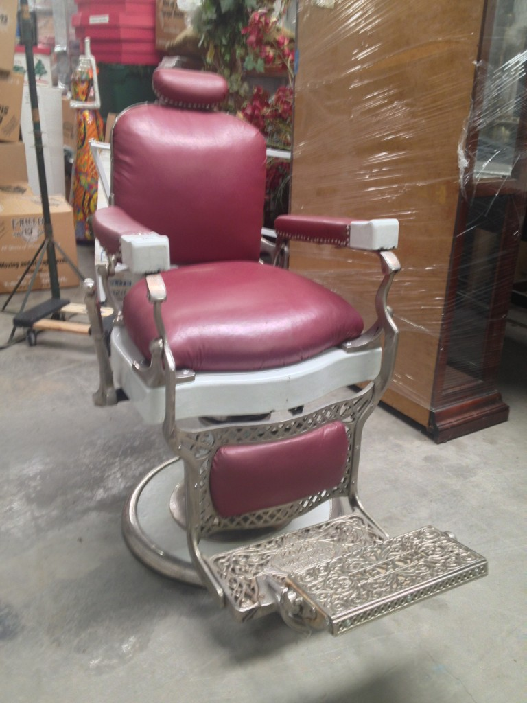 antique salon chair