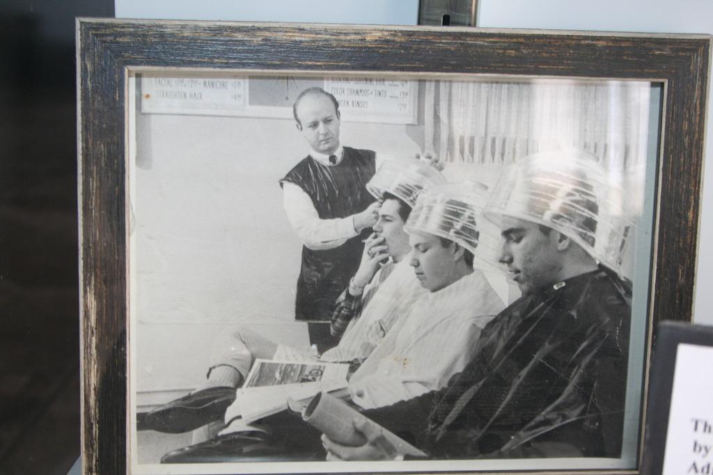 Barbershop memorabilia