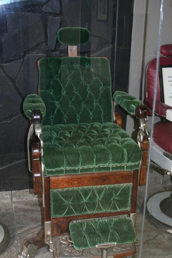 Salon furniture museum in Fort Worth